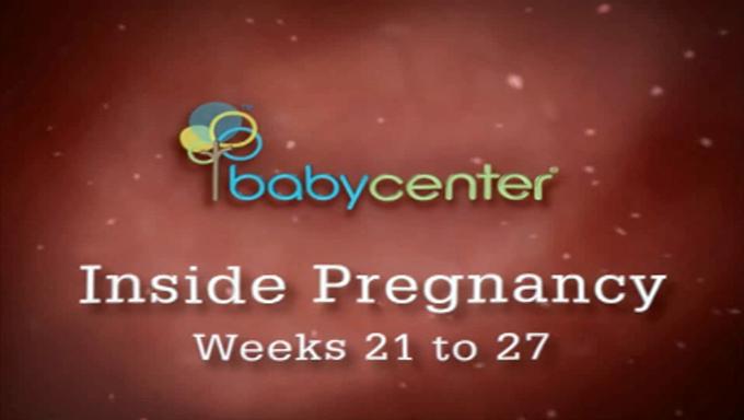 دوران بارداری کودک هفته بیست و یک تا بیست و هفت