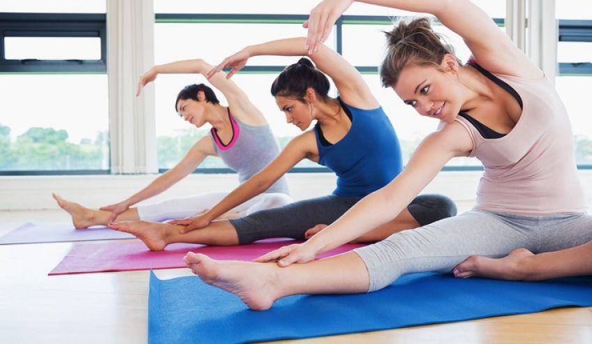 یوگا برای کاهش استرس و لاغری