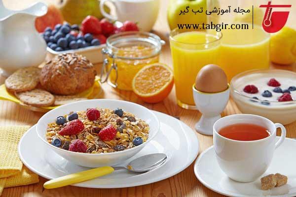 صبحانه در رژیم مدیترانه ای