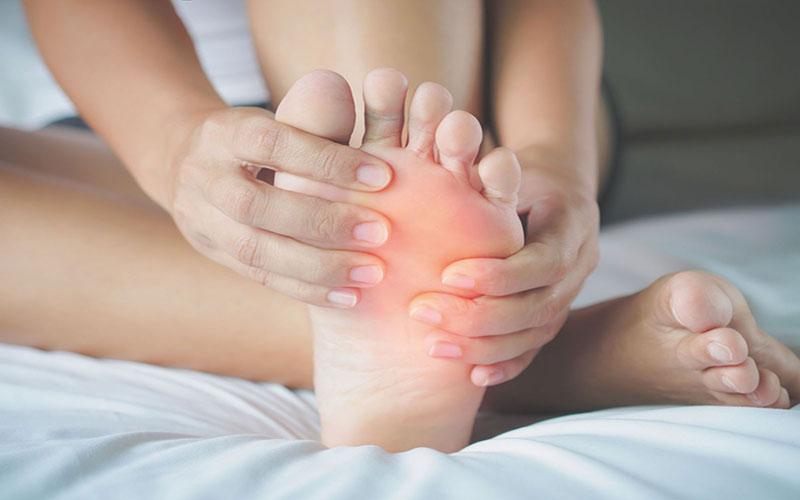 درمان ورم پا